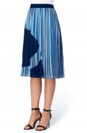 Catherine Catherine Malandrino Francis Pleat A-Line Skirt at Nordstrom