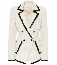 Cato boulce tweed blazer at Mytheresa