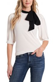 CeCe Bow Knit Top   Nordstrom at Nordstrom