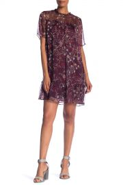 CeCe by Cynthia Steffe   Floral Mystery Shift Dress  Plus Size    Nordstrom Rack at Nordstrom Rack