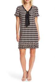 Cece Grid Tweed Dress at Nordstrom Rack