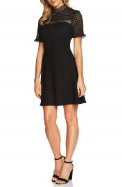 Cece Lillian Lace Fit   Flare Dress at Nordstrom