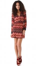 Cece's Parker zig zag dress at Shopbop