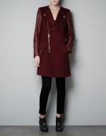 Cece's coat from Zara at Zara