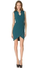 Ceces teal green dress by Rachel Zoe at Shopbop