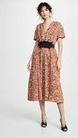 Cedric Charlier Floral Dress at Shopbop