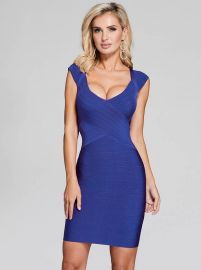 Celesse Bandage Dress at Guess
