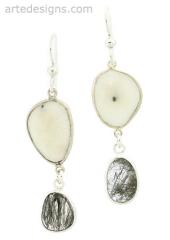 Celestial Gemstone Earrings at Arte Designs