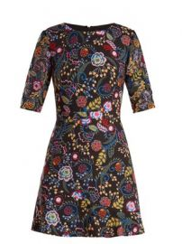 Celia floral-print cady dress at Matches