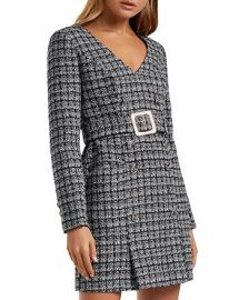 Celine Belted Bouclé Mini Dress by Ever New at Bloomingdales