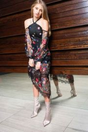 Celine Open Shoulder Midi Dress by Alpha-Be The Label at Alpha-Be The Label
