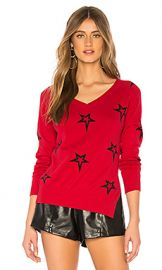 Central Park West Valpolicella Sweater in Red  amp  Stars from Revolve com at Revolve