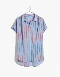Central Shirt in Atwater Stripe at Madewell