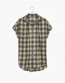 Central Shirt in Buffalo Check by Madewell at Madewell