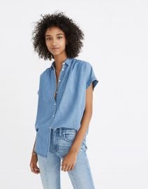 Central Shirt in Roberta Indigo at Madewell