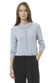 Chain Crop Pullover at Rebecca Taylor