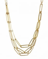 Chain Maille Necklace at Peggy Li