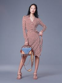 Chainlink Medium Sienna Jeanne Dress at DvF