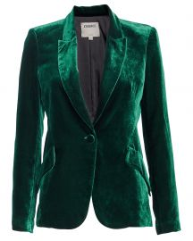 Chamberlain Velvet Blazer at Intermix