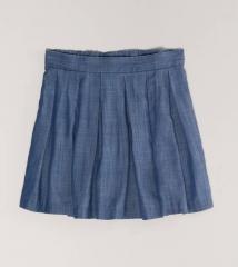 Chambray Circle Skirt at American Eagle