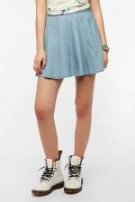 Chambray circle skirt by Kimchi blue at Urban Outfitters