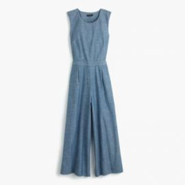 Chambray jumpsuit at J. Crew