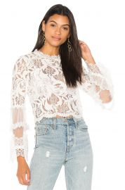 Chancellor Lace Top at Revolve