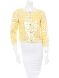 Chanel Sequin Cardigan at The Real Real