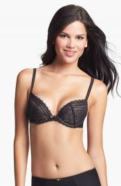 Chantelle Intimates and39Merciand39 Underwire Push-Up Bra in black at Nordstrom