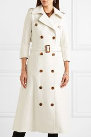 Charlotte cotton-gabardine trench coat at Net A Porter