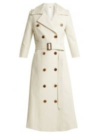 Charlotte cotton trench coat at Matches