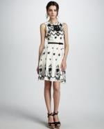 Charlottes dress at Bergdorf Goodman