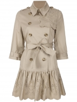 Charlottes trench coat at Farfetch