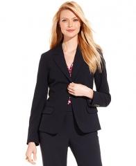Charter Club Jacket Single-Button Blazer - Women - Macys at Macys