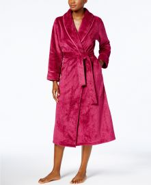 Charter Club Long Dimple Shawl Robe at Macys
