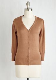 Charter School Cardigan in Camel at ModCloth