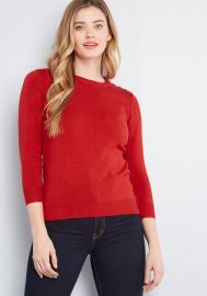 Charter School Pullover Sweater by Modcloth at Modcloth