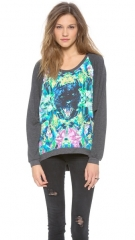 Chaser Black Panther Top at Shopbop