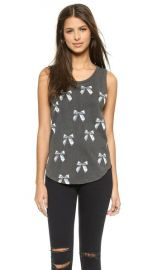 Chaser Bows Muscle Tee at Shopbop