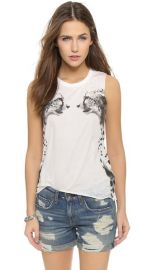 Chaser Cheetahs Tank Top at Shopbop