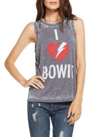 Chaser I Heart Bowie Muscle Tank at Nordstrom