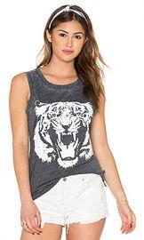 Chaser Le Tigre Tank in Black from Revolve com at Revolve