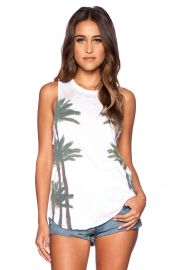 Chaser Palms Muscle Tank  at Revolve