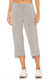 Chaser Pink Stars Pants in Heather Grey from Revolve com at Revolve
