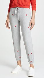 Chaser Tiny Heart Toss Sweatpants at Shopbop