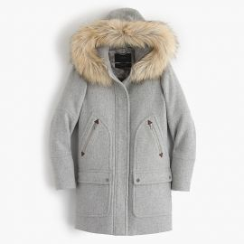 Chateau parka in stadium-cloth at J. Crew
