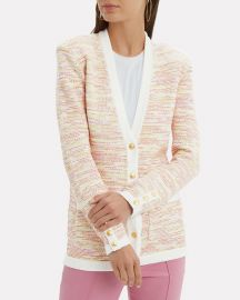 Chavri Tweed Cardigan at Intermix