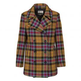Check Coat at Maud