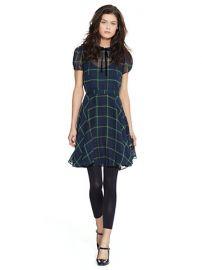 Check Silk Dress at Ralph Lauren