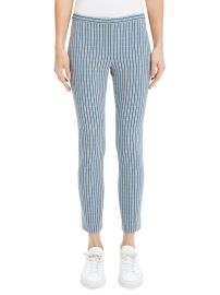 Check Skinny Cropped Pants by Theory at Saks Off 5th